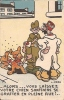 """CPA Militaire Humoristique Illustrée Par L. KERN - """" Alors...vous Laissez Votre Chien Sanitaire Se Gratter...  """". - Umoristiche"""