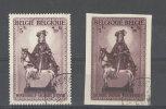 België N° 592A/592B  Aan 18% Cote     0 - Used Stamps