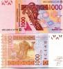 West African BENIN 1000 Francs P-215B 2003 (2009) UNC - Benin