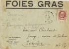 Carta PAVIE AUCH (Gere) 1943. FOIES GRAS - Lettres & Documents