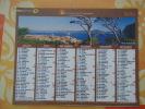 Calendrier ALMANACH PTT - LA POSTE - 2010 - Paysages - CARTIER BRESSON - Aisne 02 - Excellent  état - Calendarios