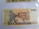 BRESIL // 1000 CRUZADOS - SURCHARGE 1 CRUZADO NOVO EN TRIANGLE NOIR COMME NEUF - Brésil