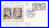 FDC (GF-PJ) - Les Aviateurs Dieudonné Costes Et Joseph Le Brix - Poste Aérienne N° 55 (Yvert) - France 1981 - 1980-1989