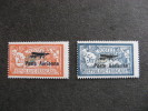 A).TB Paire PA N° 1 Et N° 2, Neufs XX . Cote =950,00 Euros. - 1927-1959 Mint/hinged