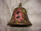 Belle Cloche Ancienne Souvenir De Hte Savoie En Bronze - Cloches