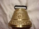 Belle Cloche Ancienne Bronze Souvenir Hte Savoie - Cloches