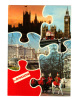Royaume Uni: London, Houses Of Parliament, Big Ben, Buckingham Palace, Life Guards In The Mall (11-1117) - Other