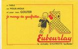 BU 759 /BUVARD    GAUFRETTES EUBEURLAY - Food