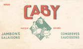 BU 768 /BUVARD     SAUCISSONS     GABY JAMBONS SALAISONS - Food