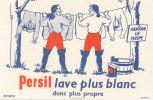 BU 772 /BUVARD     LESSIVE  PERSIL   LAVE PLUS BLANC  FANFAN LA TULIPE - Wash & Clean