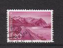 1959/64  N° 327   OBLITERE                  CATALOGUE ZUMSTEIN - Liechtenstein