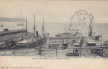 Asiatic And Alaska Liners At  Seattle Docks, Washington, PU-1906 - Seattle