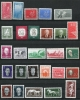 Germany 1958 Collection Complete Year  Mi 616-672 MNH/MH CV 68 Euro (no Block) - Unused Stamps