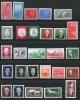 Germany 1958 Collection Complete Year  Mi 616-672 MNH/MH CV 68 Euro (no Block) - [6] Democratic Republic
