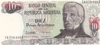 10 PESOS - Argentine