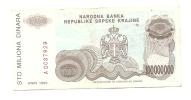 REPUBLIKA SRPSKA KRAJINA - 100000000 DIN - 1993. - Kroatië