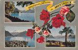 Quelques Roses De Montreux // Carte Multivues - VD Waadt