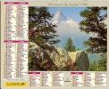 ALMANACH DES PTT  1998 RHONE - Calendriers
