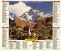 ALMANACH DES PTT  1997 RHONE - Calendriers