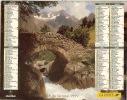 ALMANACH DES PTT  1999 RHONE - Calendars