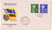 SAARLAND  11958  Europa  FDC - FDC