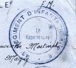 43e REGIMENT D'INFANTERIE ALPINE / Sur CP De St-Geniez-de-DROMON (04) 30-06-1942 - Postmark Collection (Covers)