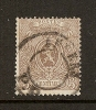 Belgique  1866-67  COB  25  (o)  Used   Cote: 100.00 - 1866-1867 Coat Of Arms