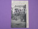 CPA 62 - Guerre 1914-15- ARRAS - Le Premier Obus Sur La Ville Tombe, Place Du Théâtre, Sur L´épicerie Parisienne - Arras