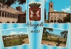 MACERATA - CINGOLI - VEDUTINE ANCHE STADIO VG - Ascoli Piceno