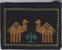 Purse - Monedero - Porte-monnaie Embroidery From Palestine - Vintage Kleding, Linnengoed