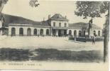 REMIREMONT . LA GARE  .  VOYAGEE EN 1915 - Remiremont