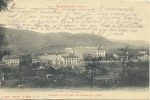 REMIREMONT .  CASERNES DU 15° BATAILLON DE CHASSEURS A PIEDS   .  VOYAGEE EN 1915 - Remiremont