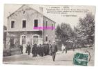 Militaria  Postkarte- Militaria CPA 1911, 126è RI - BRIVE, Arrivée Des Bleus à La Caserne, Avenue Alsace-Lorraine - Barracks