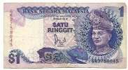 MALAYSIE 1 RINGGIT - Malaysie