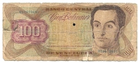 100 Bolivares 1992 - Venezuela