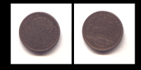 MEDAILLE  QUEEN VICTORIA  1837 -TO HANOVER - 23 MM CUIVRE - Royaux/De Noblesse