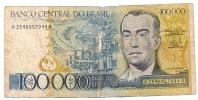 BRESIL 100000 CRUZEIROS ND1985 - Brazil