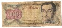 100 Bolivares 1998 - Venezuela