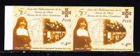B)2003 PERU SCN1357-A SISTER TERESA DE LA CRUZ CANDAMO/FOUNDER OF CANONESAS MNH IMPERFORATE PAIR - Peru