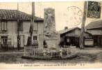 CPA (Réf : L945) MIMIZAN (40 LANDES) Monument Aux Morts Pour La Patrie (SELLERIE, BOURRELLERIE, BOUCHERIE) M. D. - Mimizan