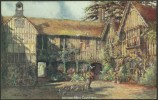 """Ightham Mote Courtyard (Sevenoaks)""  By  Charles Essinghigh Corke.  Not Postally Used  C1905. - England"