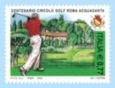 ITALIA - ITALIE - ITALY - 2003 - CENT. CIRCOLO GOLF ROMA ACQUASANTA - 1 Francobollo ** MNH - Golf