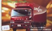 Télécarte Japon CAMION * Japan Phonecard * TRUCK (78) Auto * Car * Voitures * Telefonkarte * CAMIONES * VRACHTWAGEN - Auto's