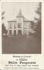 MERBES-LE-CHATEAU : RARE CPA PUBLICITAIRE Du Notaire Wins - Cachet De La Poste 1910 - Merbes-le-Château