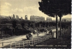 Postal, Acueducto De Claudio,, Italia,  Arqueología,, Post Card - Sin Clasificación