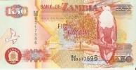 BILLETE DE ZAMBIA DE 50 KWACHA   (BANKNOTE)  SIN CIRCULAR - Zambia