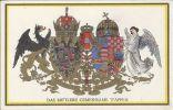 Wappen AK, Das Mittlere Gemeinsame Wappen, Frühe AK - Königshäuser