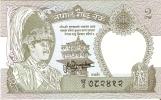 BILLETE DE NEPAL DE 2 RUPEES SIN CIRCULAR (BANKNOTE) - Nepal