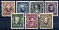 AUSTRIA 1922 Musicians' Fund Set Mint Hinged / *. - Unused Stamps