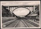 Mont-Saint-Guibert - Le Viaduc. Chemin De Fer. Voyagée. 2 Scans. - Mont-Saint-Guibert